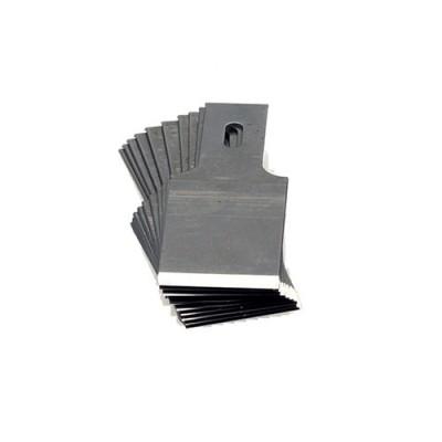 Chisel blades short - 17 mm wide