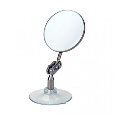 Suction cup with raised edge