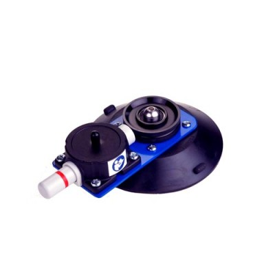 Suction cup with pulley